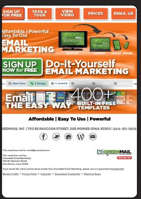 Do-it-Yourself Email Marketing Tool