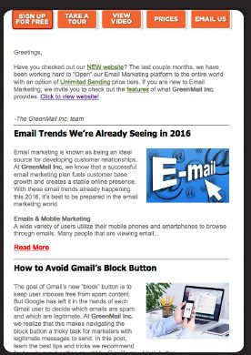 Templates for Email Marketing