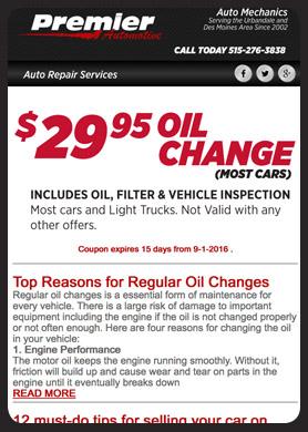 Autobody Shop Newsletter Templates