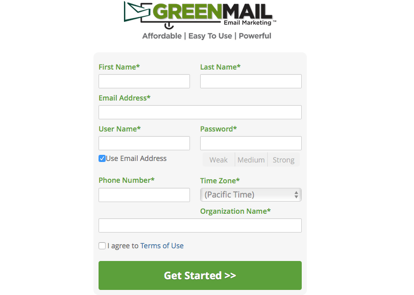 GreenMail Email Marketing in DSM, IA