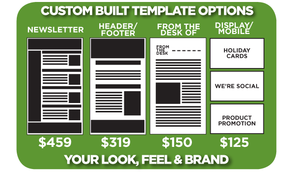Custom Built Email Marketing Templates