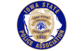 iowa state police association logo graphic