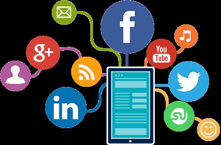 social media advertising graphic