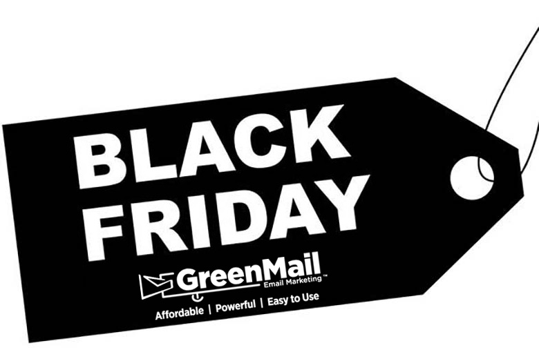 black friday email makering logo graphic
